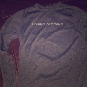 Men's SM Under Armour Fitted LS Shirt